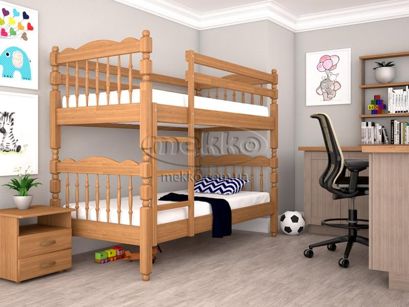 "Дитяче двохярусне ліжко ""Трансформер 2"" (800×1900, 900×2000) ТИС"